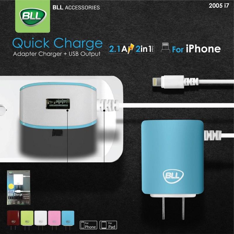BLL Adapter 2005-i7 หัวชาร์จพร้อมสายสำหรับ iPhone
