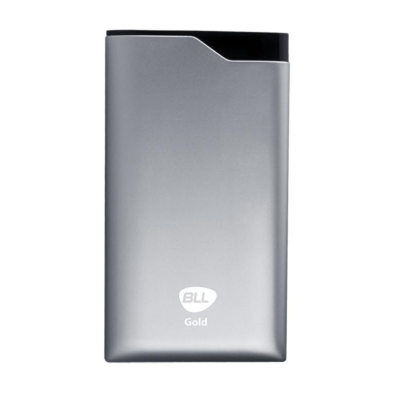 bll-powerbank-G16 _silver พาวเวอร์แบงค์ ราคาถูก ปลีกส่ง 15000mAh