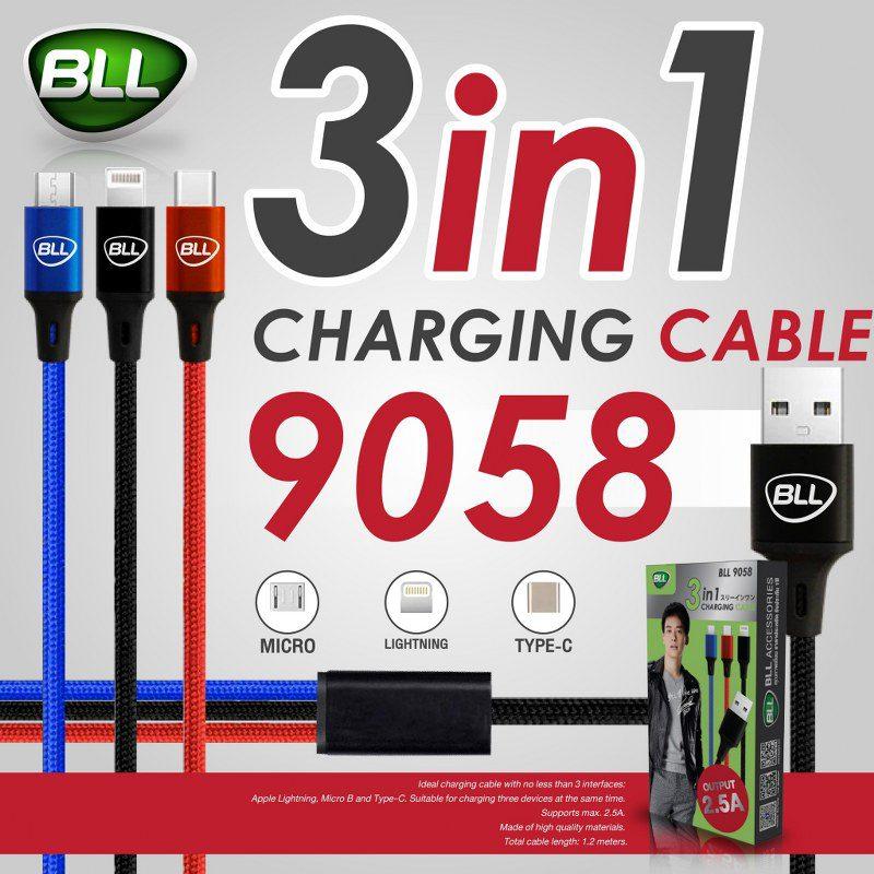 bll powerbank cable 9058 สายชาร์จรุ่นใหม่ล่าสุด