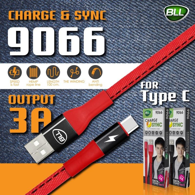 สายชาร์จ BLL 9066 สำหรับโทรศัพท์ที่มีช่องเสียบ Type C