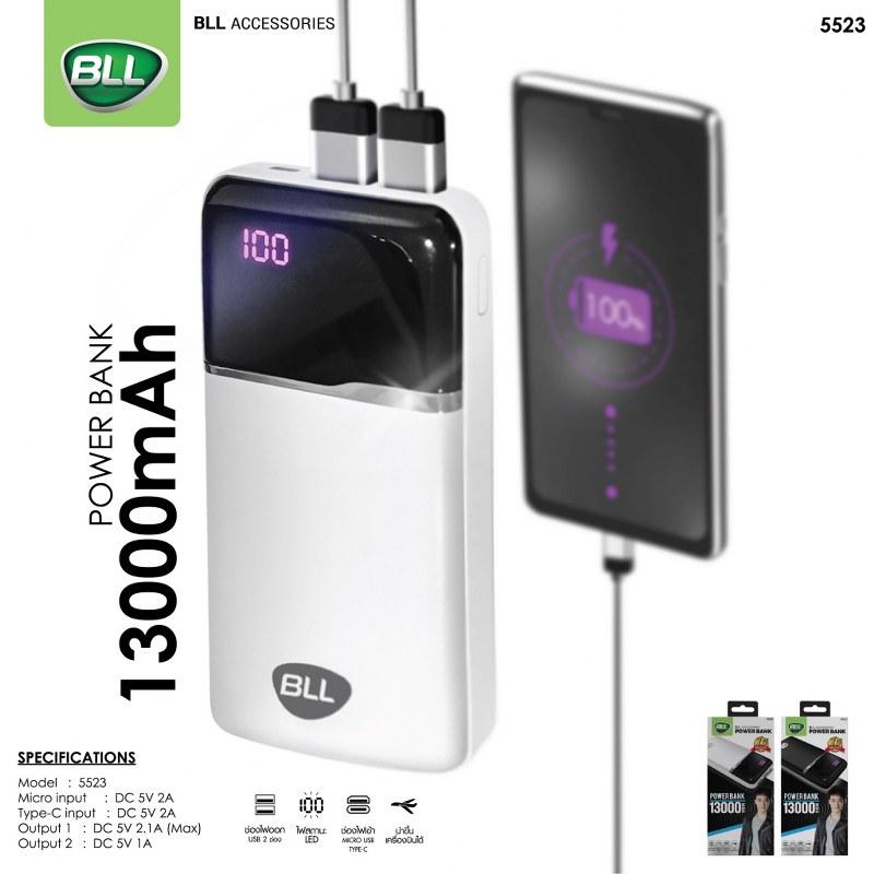 BLL Powerbank 5523-13000mAh-พาวเวอร์แบงค์-2