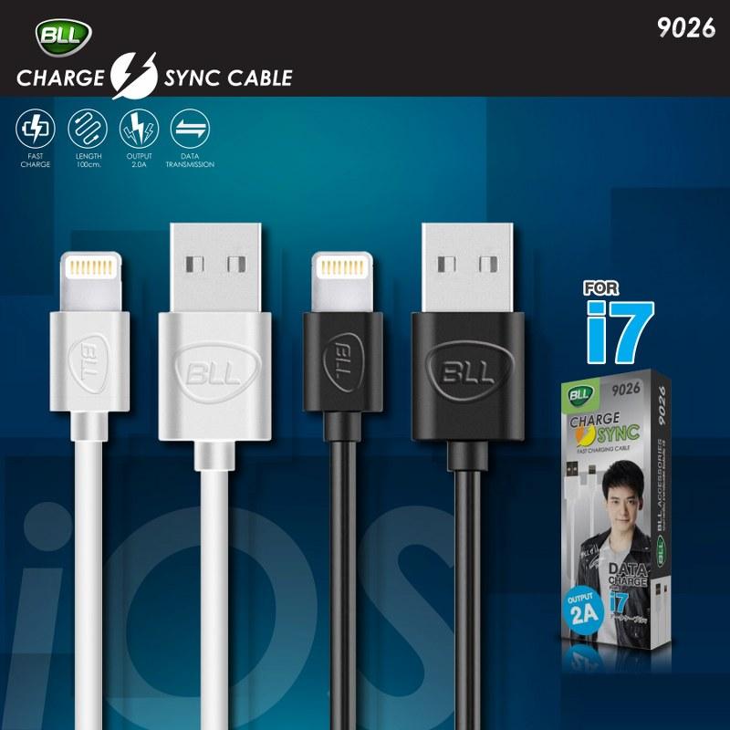 สายชาร์จหัว Android BLL 9026 iphone-black